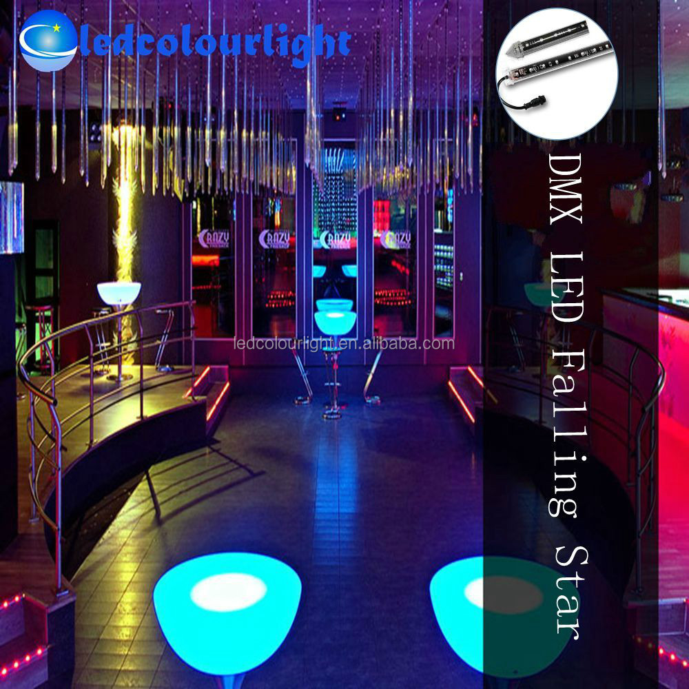 club bar stage led holiday lighting dmx rgb led meteor. Black Bedroom Furniture Sets. Home Design Ideas
