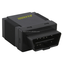 plug and play obd ii gps gprs gsm car tracker GPS306A with Mileage report,fuel report,diagnostic function RPM Engine speed