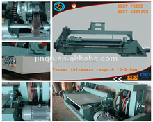 4 feet 8 feet spindle face veneer peeling machine, plywood machinery plywood production line