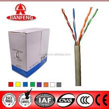 Zhejiang JIanfeng Lan cable 4 pair cable cat5e cat6