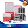 MAHLE China Top Supplier 6BG1 Engine Piston Cylinder Liner Kit Engine Rebuild Kit for Hitachi