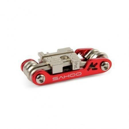 красный новый Велоспорт 17 в 1 велосипед велосипед ремонт мульти инструменты с цепи перерыва ключ