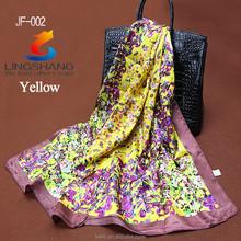 New Fashion 100% Silk Handmade Necklace Kerchief Scarf & Wrap Gift Square scarf bandana
