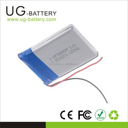 564050 Rechargeable Cell 3.7v 1200mAh rc Lipo Battery for toys