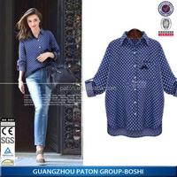 Guangzhou Paton Apparel Factory custom cheap plus size women shirt