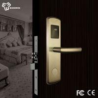 swipe cards type electronic key door lock