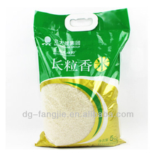 Alibaba China Manufacturer plastic rice packaging bags