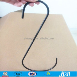 Trade Assurance 12 inch cheap customized s hook for hanging bird cage
