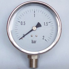 stainless steel tire pressure gauge