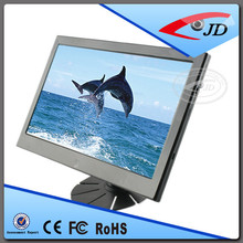 Manufacture 10 inch lcd monitor digital tv car monitor with vga hdmi input av in av out