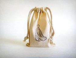Muslin Sack, Stamped Bags
