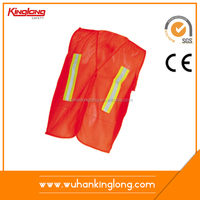 China Wholesale Custom Orange Reflective Safety Vest