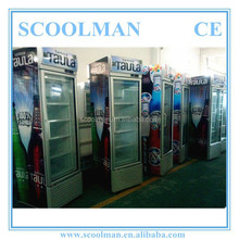 Vertical Convenience Store Refrigerated Cooler