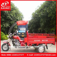 Hot Cargo Trike Motorcycle With Cabin Front Windshield In Coming China