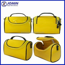 Makeup Artist yellow Clear PVC Plastic Cosmetic Bag