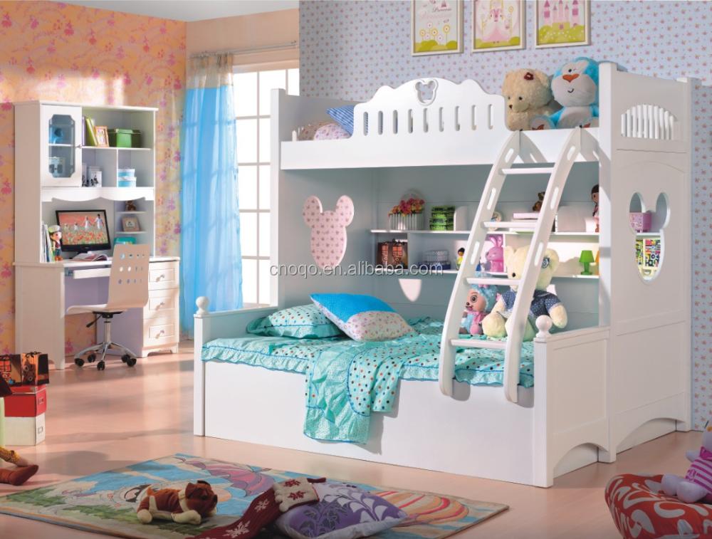 Blanco Mickey Mouse cama Litera 2016 barato doble litera niños ...