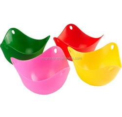 food grade silicone egg poacher,Colorful FDA standard silicone egg poacher,Microwave oven use safe silicone egg poacher