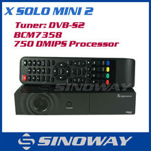 BCM7358 DVB-S2 Receiver X-SOLO MINI & X solo Mini 2 Linux Operating System Media Player