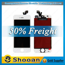 new products on china market for iphone5 lcd touch screen with digitizer,for iphone 5 lcd digital display