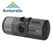 Ambarella A7 Car Dvr Camera 1296P 64G 170 Degree Car Video Camera Recorder With GPS