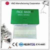 Non woven disposable earloop decorative medical face masks