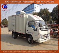 forland cargo trucks 4*2 van trucks used small trucks 3.5ton