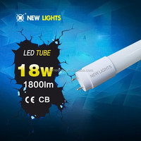 360 degree hanging 24v dc led tube light