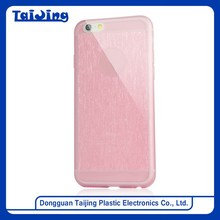 "Ultra Thin Flexible TPU Mobile Phone Casing Cover for iPhone 6 4.7"" Hair Line"