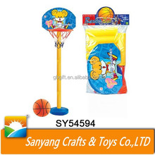 Indoor sport game stand basketball backboard toys plastic basketball hoop