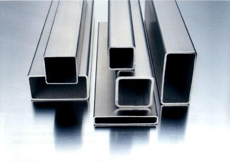acier inoxydable rectangulaire en acier tube tuyau. Black Bedroom Furniture Sets. Home Design Ideas