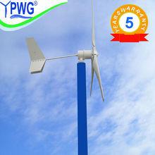 3kw de viento generador de turbina de baja rpm alternador generador