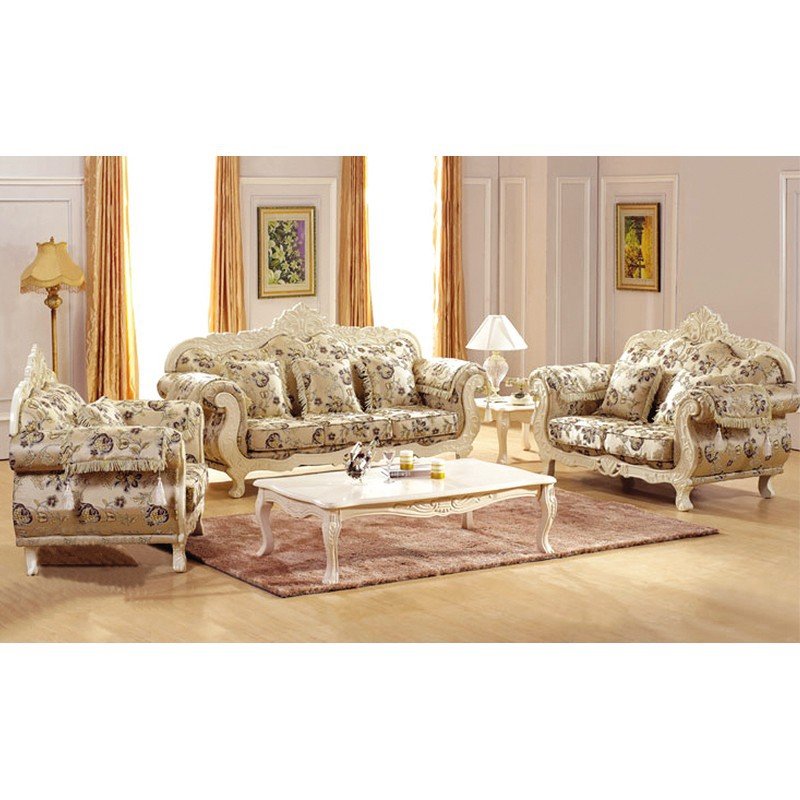 Antique Living Room Sofa Set Foshan Shunde Furniture Manufacturer 1 2