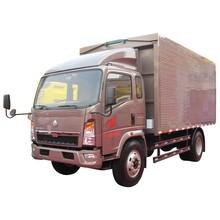 HOWO EGR Euro3 4x2 van truck/70kw