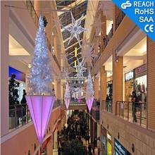 Christmas tree/stars/crystal decoration,indoor led tree lighting