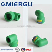 large diameter PPR pipe fittng reducing elbow