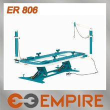 Hydraulic work bench for car repairs with Two Pulling Tower, 6mm Thick Tubular Steel ER806