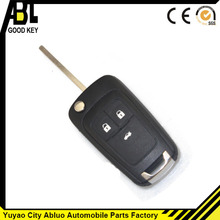 ABLCS black universal remote control cover for chevrolet car parts 3 button