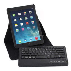 New arrival Rotating PU Case Cover with Bluetooth Keyboard For iPad Mini 1/2/3