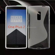 Cell phone accessory s Line TPU soft cover skin Gel case back cover case for one plus two china suppliers