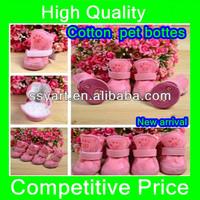 New arrival 2013 pet dog cat cotton shoes spring autumn winter boot pet bottes 3 colors 5 sizes