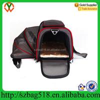 Sleepy pod Air In-Cabin Pet Carrier polyester black dog bag