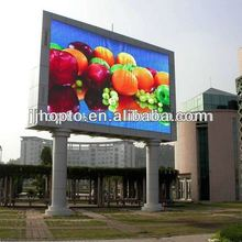 2012 Fashion Stage viewing angle 1R1G1B ph16 outdoor full color led screen wall used signs