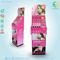 cardboard lipstick display stand for chain store
