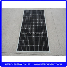 Factory direct with low 190w mono pv solar panels cost