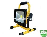 industrial outdoor 20 watt COB rechargeable flood light led worklight