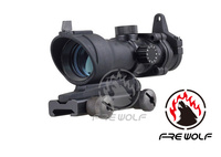 SPIKE Tactical ACOG Type 1x32 Red/Green Dot Sight Scope /red dot sight with 22mm Mount Airsoft Rifle scopes