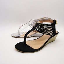 Export to Canada 2012 hot selling flat jelly sandals