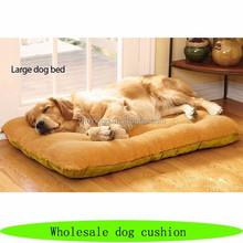 Wholesale large pet dog cushion, high quality folding dog pet beds