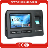 TCP/IP Gold Touch Screen fingerprint access control system