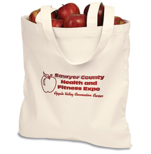Reusable factory price extra large plain white fruit cotton canvas tote bag